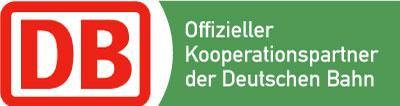 Offizieller Kooperationspartner der Deutschen Bahn